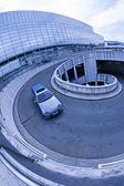 市内の駐車場 — ストック写真