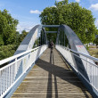 The Kiel bridge in the District of Berlin Mitte — Stock Photo
