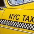 Stock Photo: Yellow cab