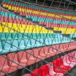 Seats in the stadium — Stock Photo