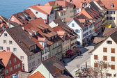 Overlooking the small town of Meersburg on Lake Constance — Foto de Stock