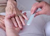 Helpende handen — Stockfoto