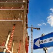 To the construction site — Stock Photo #50188169