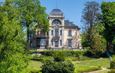 Historical villa on the River Elbe near Dresden — Foto Stock