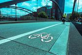 путь для велосипеда — Стоковое фото