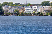 Apartment in the havel in potsdam — Stock Photo