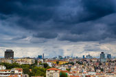 Istanbul cityscape as seen from the Bosphorus — Stock Photo