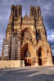 Notre-Dame de Reims, France — Stock Photo