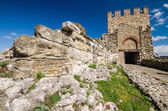 Tzarevetz fortress, Veliko Tarnovo, Bulgaria — Stock Photo