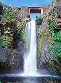 Chutes de Tatinga Falls Comoros islands — Stock Photo