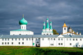 Alexander Svirsky monastery in Leningrad region of Russia — Stock Photo