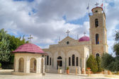 Greek Orthodox monastery on Shepherds Fields in Beit Sahour near — Stock Photo