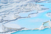 Travertines in Pamukkale, Turkey — Stock Photo