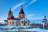 Saint Panteleimon church in Petrozavodsk, Russia — Stock Photo