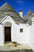 Trullo in Alberobello, Apulia, Italy — Stock Photo