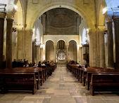 Inside St. Nicholas Basilica. Bari. Apulia.  — Stock Photo