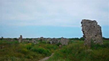 Antické ruiny — Stock video