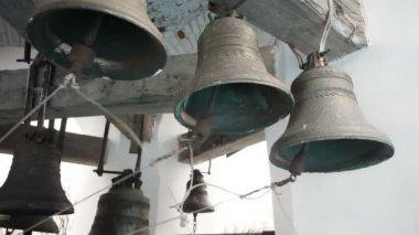 Bells striking — Video Stock