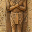 Statue of Horus — Stock Photo