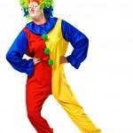 Happy birthday clown with — Stock Photo #13545581
