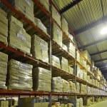 Indoor warehouse — Stock Photo