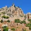 Stock Photo: Monastery Saint Hilarion Castle