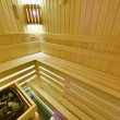 Finnish sauna — Stock Photo