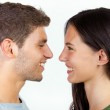 Happy young couple looking at each other — Stock Photo #36458755