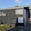Fishing Hut in the UK — Stock Photo