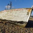Stock Photo: Abandoned Fishing Boat