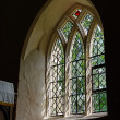 Mediaeval Church Window — Stock Photo