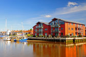Waterside Flats,UK — Stock Photo