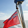 UK Red Ensign — Stock fotografie
