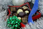 Cioccolatini di Natale — Foto Stock