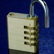 New Year Padlock 2014 Open — Stock Photo #36651379