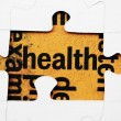 Health puzzle concept — Stock Photo