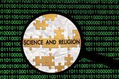 Search for science and religion — Stock Photo