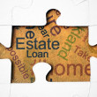 Estate and loan concept - Stock Photo