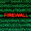 Firewall concept — Stock Photo #14149418
