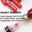 Heart disease - Stock Photo