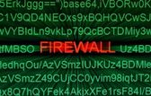 Firewall concept — Stock Photo