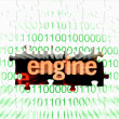 Web engine — Stock Photo