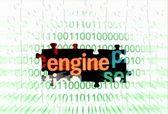 Web engine — Stock Photo