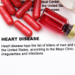 Stock Photo: Heart disease concept