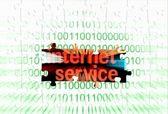 Internet service — Stock Photo