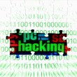 Hacking puzzle concept — Stock Photo #15743651