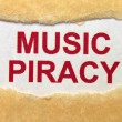 Music piracy — Stock Photo #17858251