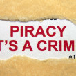 Piracy it — Stock Photo #17858517