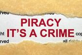 Piracy it — Stok fotoğraf