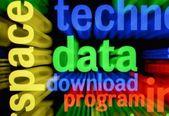Data download — Stock Photo